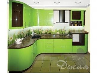 Зеленая кухня  - Мебельная фабрика «Джая»