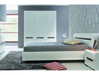 СПАЛЬНЯ АЦТЕКА БЕЛЫЙ ГЛЯНЕЦ - Импортёр мебели «БРВ-Мебель (Black Red White)»