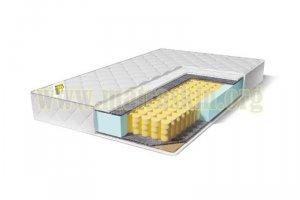 Матрас Рыцарский на независимом пружинном блоке (256 пружин/м²) - Мебельная фабрика «Матраскин»