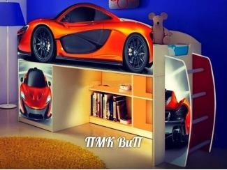 Детская кровать  Супер Кар модель 1 - Мебельная фабрика «ПМК ВиП»