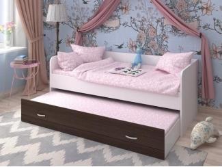 Кровать двухъярусная выкатная - Мебельная фабрика «Сходня Мебель», г. Химки