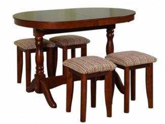 стол обеденный и 4 табурета - Мебельная фабрика «Боринское»