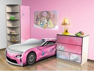 Набор мебели для детской Розовая 1 - Мебельная фабрика «КАРоБАС»