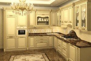 Классическая Модель кухни Афина - Мебельная фабрика «Энгельсская (Эмфа)»