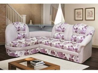 Угловой диван Леон с баром
