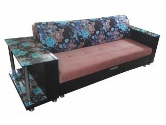 Прямой диван со столом   - Мебельная фабрика «Лидер», г. Ульяновск