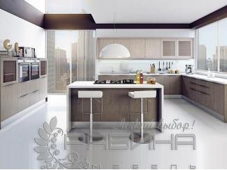 Кухня Гестия с островком  - Мебельная фабрика «Рябина»