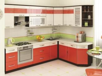 Кухня Оранж 9 МДФ - Мебельная фабрика «Кузьминки-мебель»