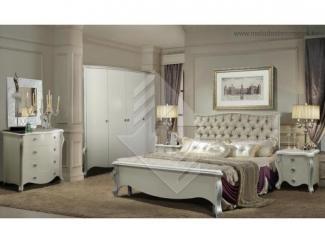 Светлая спальня Луиза - Мебельная фабрика «Молодечномебель»