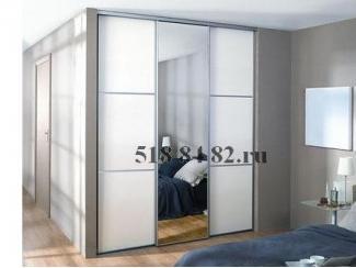 Встроенный шкаф-купе с зеркалом  - Мебельная фабрика «Шкаф-Шкафыч», г. Москва