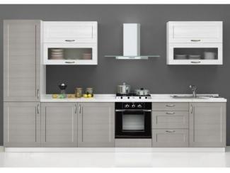 Серая кухня Николь-Вуд - Мебельная фабрика «SL-Мебель»