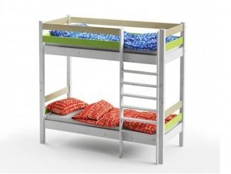 Кровать Wood Fantasy двухъярусная - Мебельная фабрика «GRIFON»