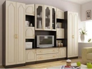 Классическая гостиная стенка Макарена  - Мебельная фабрика «Горизонт»