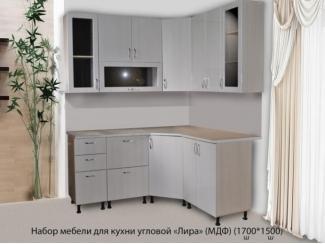 Кухонный гарнитур угловой Лира - Мебельная фабрика «МВМ»