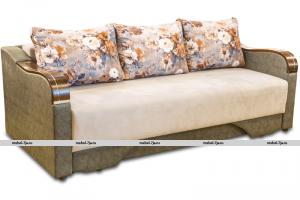 Раскладной диван МВС Пантера Тройка еврокнижка - Мебельная фабрика «Фабрика МВС»