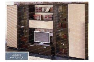 Гостиная 5 Сильвер - Мебельная фабрика «МФА»