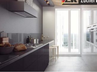 Кухонный гарнитур прямой Бонн Графит - Мебельная фабрика «Zuchel Kuche (Германия-Белоруссия)»