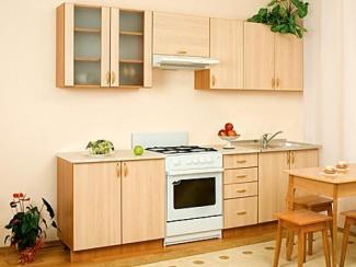 Кухонный гарнитур прямой Алеся Клен - Мебельная фабрика «Мебель плюс»
