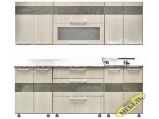 Кухня прямая 49 - Мебельная фабрика «Трио мебель»
