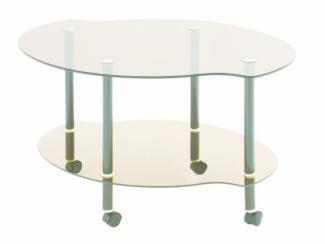 Стол журнальный Каприз - Мебельная фабрика «Мебель из стекла»
