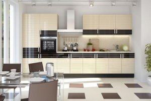 Прямая кухня Бостон - Мебельная фабрика «Мебель.Ру»