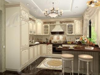 Кухня угловая «Каролина Виоланта» - Мебельная фабрика «Ладос-мебель»