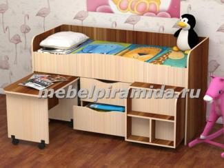 Кровать детская Гномик - Мебельная фабрика «Пирамида», г. Краснодар