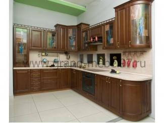 Кухня массив 03 - Мебельная фабрика «Гранд Мебель»