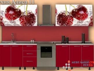 Кухонный гарнитур прямой Алиса11 - Мебельная фабрика «Мебельный стиль»