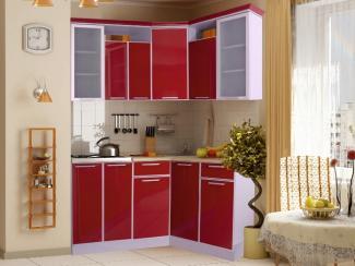Кухня угловая с алюминиевым профилем
