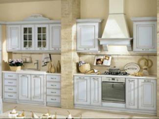 Кухня прямая Кантри 6 - Мебельная фабрика «ДСП-России»