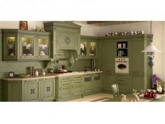 Кухонный гарнитур FLOREALE VERDE  - Изготовление мебели на заказ «КА2design»