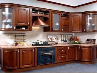 Кухня из массива KMS 3 - Мебельная фабрика «FSM (Фабрика Стильной Мебели)»