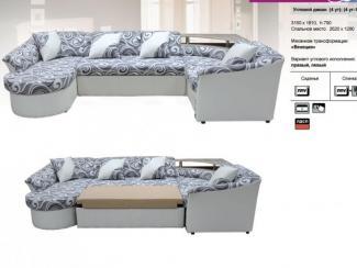 Угловой диван Вероника 2 - Мебельная фабрика «КМК (Красноярская мебельная компания)»