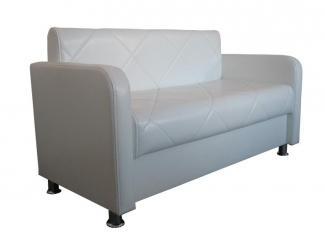 Белый диван Плаза-АРТ - Мебельная фабрика «Европейский стиль»