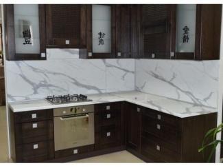 Кухня угловая в Китайском стиле Эльт  - Мебельная фабрика «Вектра-мебель»