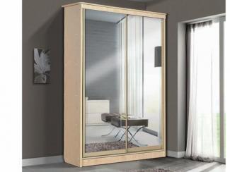 Шкаф – купе для платья и белья 2-х дверный с 3-мя ящиками  - Мебельная фабрика «Актив-М»