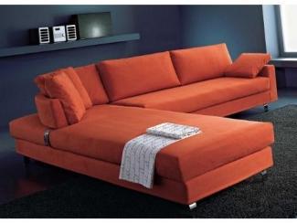 Оранжевый диван Флекс  - Импортёр мебели «Camelgroup (Италия)»