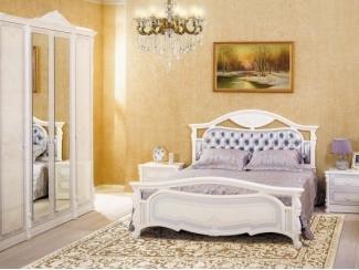 Спальный гарнитур Камелия - Мебельная фабрика «Любимый дом (Алмаз)»