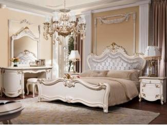 Спальный гарнитур Элиана белая - Мебельная фабрика «Слониммебель»
