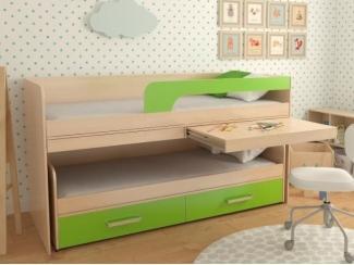 Детская двухъярусная кровать №11 - Мебельная фабрика «Элфис»