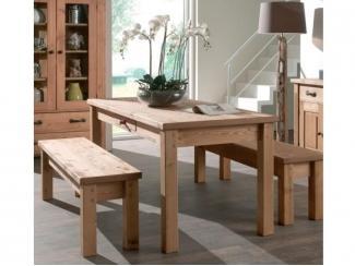 Кухонный набор Осло из натурального дерева - Мебельная фабрика «Дубрава»
