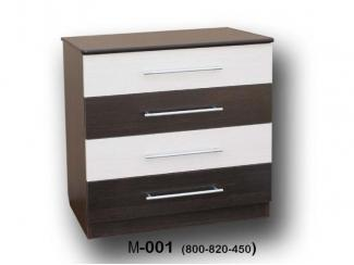 Комод М 001 - Мебельная фабрика «Пассаж плюс», г. Волгодонск