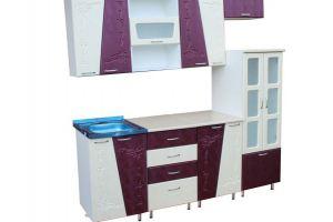 Кухня Мираж 2,0м МДФ с рисунком - Мебельная фабрика «Мебельный Арсенал» г. Барнаул