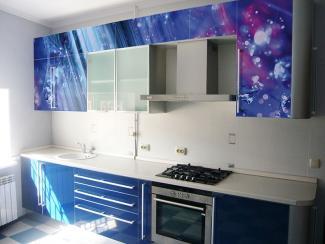 Кухонный гарнитур прямой 6 фотопечать