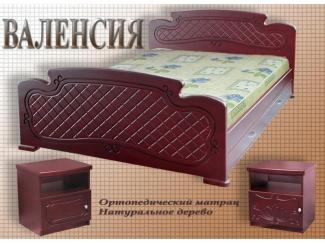 Кровать Валенсия - Мебельная фабрика «ВЭФ»