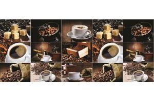 Фартук АВС (фотопечать) Кофе - Оптовый поставщик комплектующих «Центр изделий ПВХ»