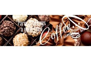 Фартук АВС ( фотопечать) Кофе 287 - Оптовый поставщик комплектующих «Центр изделий ПВХ»