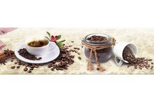 Фартук Душевная кухня кофе с корицей - Оптовый поставщик комплектующих «Центр изделий ПВХ»