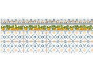 Фартук кухонный из пластика Лимончелло - Оптовый поставщик комплектующих «ФАРН-ДВС»